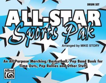 All-Star Sports Pak: An All-Purpose Marching/Basketball/Pep Band Book  (AL-00-MBF9524)