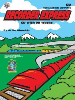 Recorder Express: Soprano Recorder Method for Classroom or Individual  (AL-00-BMRCD1000)