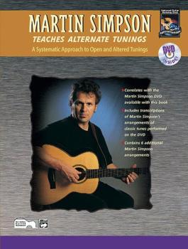 Martin Simpson Teaches Alternate Tunings: A Systematic Approach to Ope (AL-00-20404)