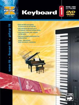 Alfred's MAX™ Keyboard 1: See It * Hear It * Play It (AL-00-22662)