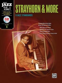 Alfred Jazz Play-Along Series, Vol. 1: Strayhorn & More (9 Jazz Standa (AL-00-33387)