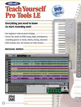 Alfred's Teach Yourself Pro Tools LE (AL-00-34361)