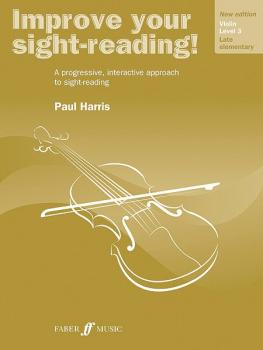 Improve Your Sight-reading! Violin, Level 3 (New Edition): A Progressi (AL-12-0571536638)