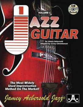 Jamey Aebersold Jazz, Volume 1: Jazz Guitar: The Most Widely Used Impr (AL-24-V01G)