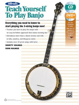 Alfred's Teach Yourself to Play Banjo: Everything You Need to Know to  (AL-00-42730)
