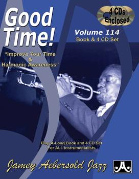 Jamey Aebersold Jazz, Volume 114: Good Time!: Improve Your Time & Harm (AL-24-V114DS)