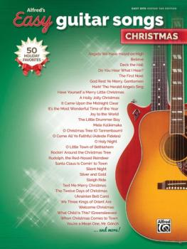 Alfred's Easy Guitar Songs: Christmas: 50 Christmas Favorites (AL-00-46021)