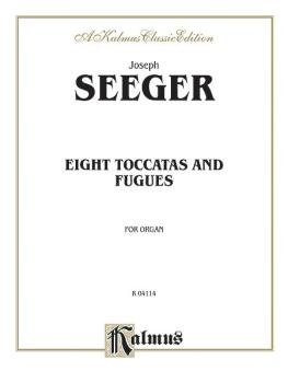 Eight Toccatas and Fugues (AL-00-K04114)
