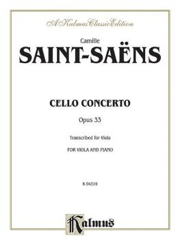 Cello Concerto, Opus 33 (AL-00-K04319)