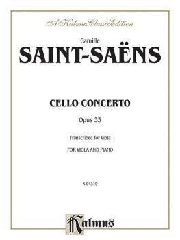 Cello Concerto, Opus 33 (AL-00-K04319)
