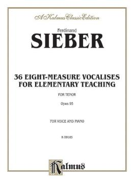 36 Eight-Measure Vocalises for Elementary Teaching (AL-00-K09185)