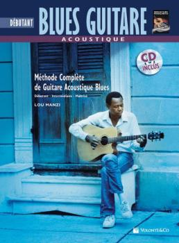 Acoustique Blues Guitare Debutante [Beginning Acoustic Blues Guitar]:  (AL-00-40673)