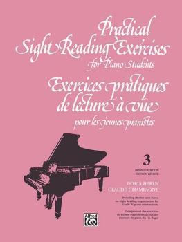 Practical Sight Reading Exercises for Piano Students, Book 3 (AL-00-V1033)