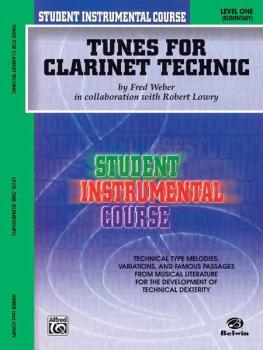 Student Instrumental Course: Tunes for Clarinet Technic, Level I (AL-00-BIC00108A)