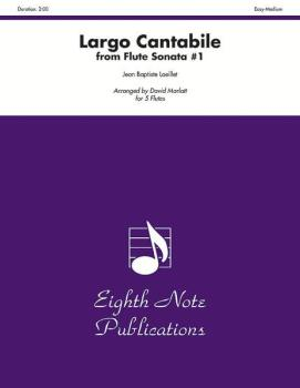Largo Cantabile (from Flute Sonata #1) (AL-81-F2976)