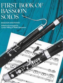 First Book of Bassoon Solos (AL-12-0571502423)