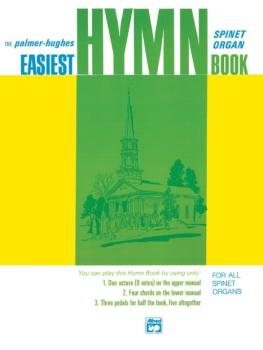 Easiest Organ Hymn Book (AL-00-113)