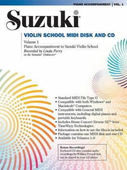 Suzuki Violin School MIDI Disk Acc./CD-ROM, Volume 1 (AL-00-30020)