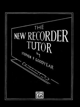The New Recorder Tutor, Book II (AL-00-11342X)