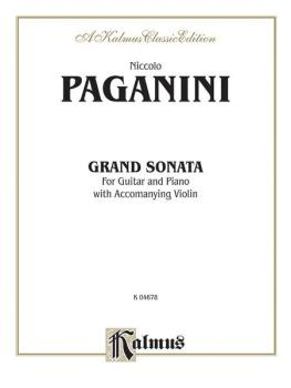 Grand Sonata (For Guitar and Piano with Accompanying Violin) (AL-00-K04678)