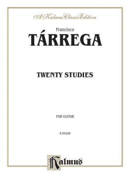 Twenty Studies (For Guitar) (AL-00-K04259)