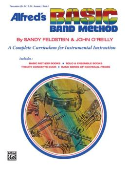 Alfred's Basic Band Method, Book 1: A Complete Curriculum for Instrume (AL-00-1626)