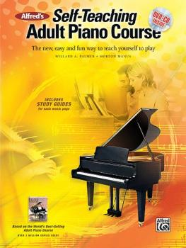 Alfred's Self-Teaching Adult Piano Course: The New, Easy and Fun Way t (AL-00-37230)