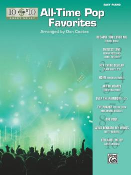 10 for 10 Sheet Music: All-Time Pop Favorites (AL-00-36313)