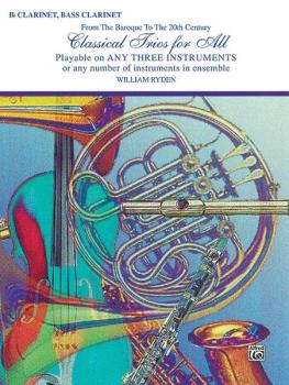 Classical Trios for All (From the Baroque to the 20th Century) (AL-00-EL96141)