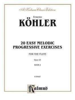 Twenty Easy Melodic Progressive Exercises, Opus 93, Book II (AL-00-K04497)
