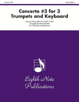 Concerto #3 for 3 Trumpets and Keyboard (AL-81-TE2275)