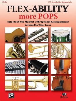 Flex-Ability: More Pops: Solo-Duet-Trio-Quartet with Optional Accompan (AL-00-30331)