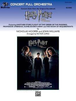 <i>Harry Potter and the Order of the Phoenix,</i> Concert Suite from ( (AL-00-29696S)