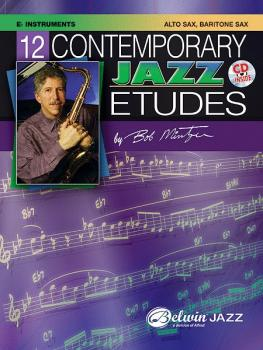 12 Contemporary Jazz Etudes (AL-00-ELM04013)