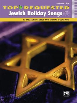 Top-Requested Jewish Holiday Songs Sheet Music: 19 Treasured Songs for (AL-00-42662)