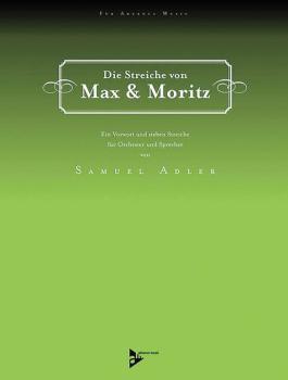Die Streiche von Max & Moritz: Ein Vorwort und sieben Streiche (AL-01-ADV50001)