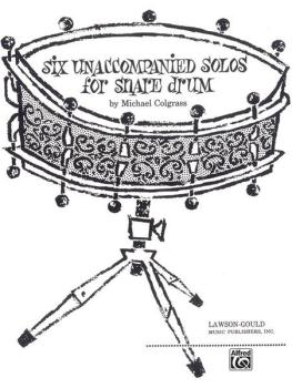 Six Unaccompanied Solos for Snare Drum (AL-00-LG00631)