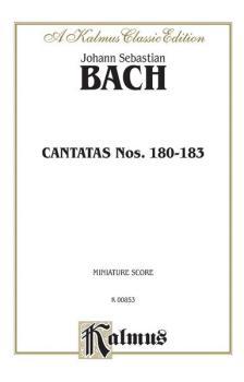 Cantatas No. 180-183 (AL-00-K00853)