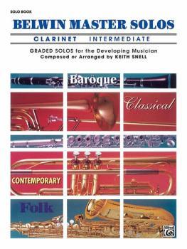 Belwin Master Solos, Volume 1 (Clarinet) (AL-00-EL03397)