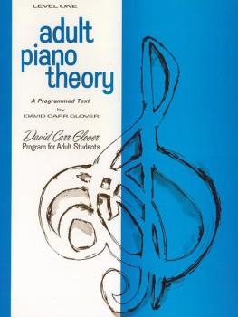 Adult Piano Theory, Level 1 (AL-00-FDL00737)