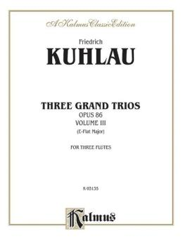 Three Grand Trios, Opus 86: Volume III (A-flat Major) (AL-00-K03135)