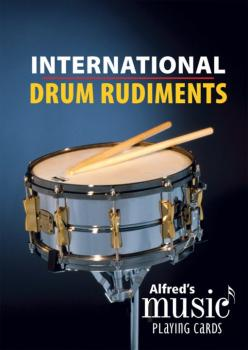 Alfred's Music Playing Cards: International Drum Rudiments (AL-00-43967)