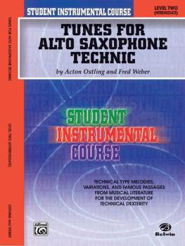 Student Instrumental Course: Tunes for Alto Saxophone Technic, Level I (AL-00-BIC00233A)