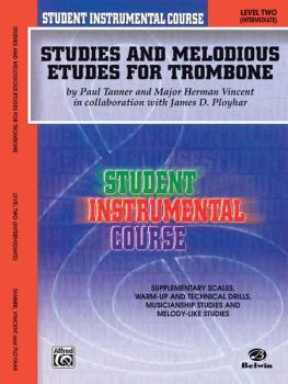 Student Instrumental Course: Studies and Melodious Etudes for Trombone (AL-00-BIC00257A)