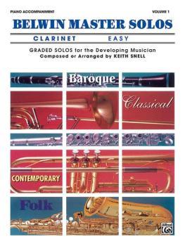 Belwin Master Solos, Volume 1 (Clarinet) (AL-00-EL03407)