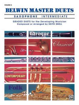 Belwin Master Duets (Saxophone), Intermediate Volume 2 (AL-00-EL03646)