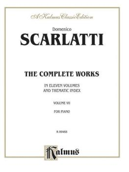The Complete Works, Volume VII (In Eleven Volumes and Thematic Index) (AL-00-K09468)