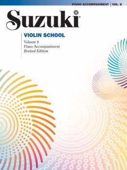 Suzuki Violin School Piano Acc., Volume 8 (Revised) (AL-00-44718)