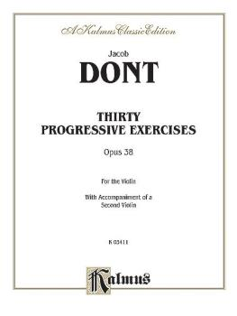Thirty Progressive Exercises, Opus 38 (AL-00-K03411)