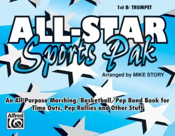 All-Star Sports Pak: An All-Purpose Marching/Basketball/Pep Band Book  (AL-00-MBF9508)
